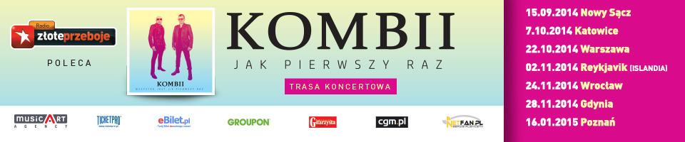 Kombii - Jak pierwszy raz - banner
