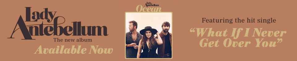 Lady Antebellum - Ocean Banner