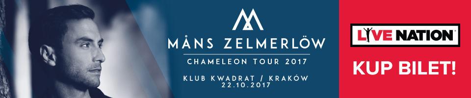 Mans Zelmerlow Banner