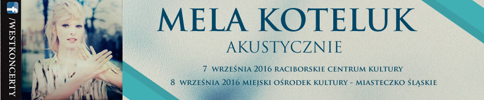 Mela Koteluk Akustycznie Banner