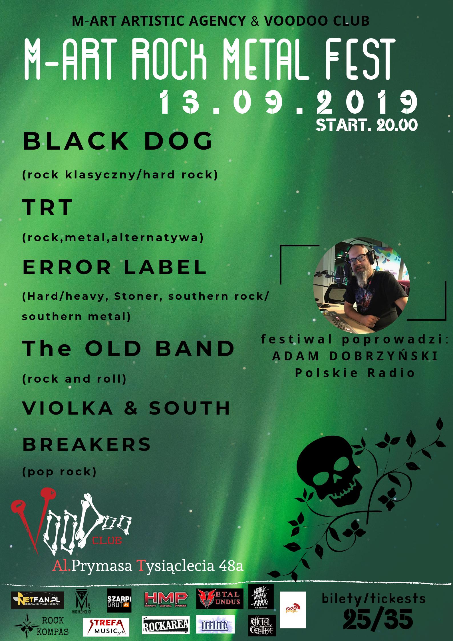 Już w piątek startuje M-ART Rock Metal Fest!