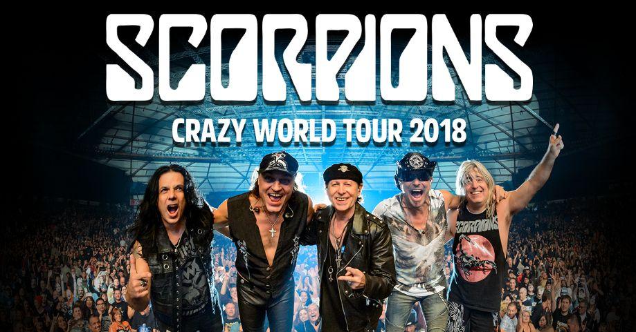 Scorpions – po znakomitym koncercie w Gdańsku, kolejny w Łodzi