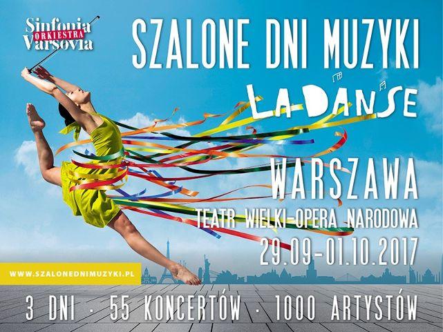 Nowości podczas 8. edycji festiwalu Szalone Dni Muzyki La Danse