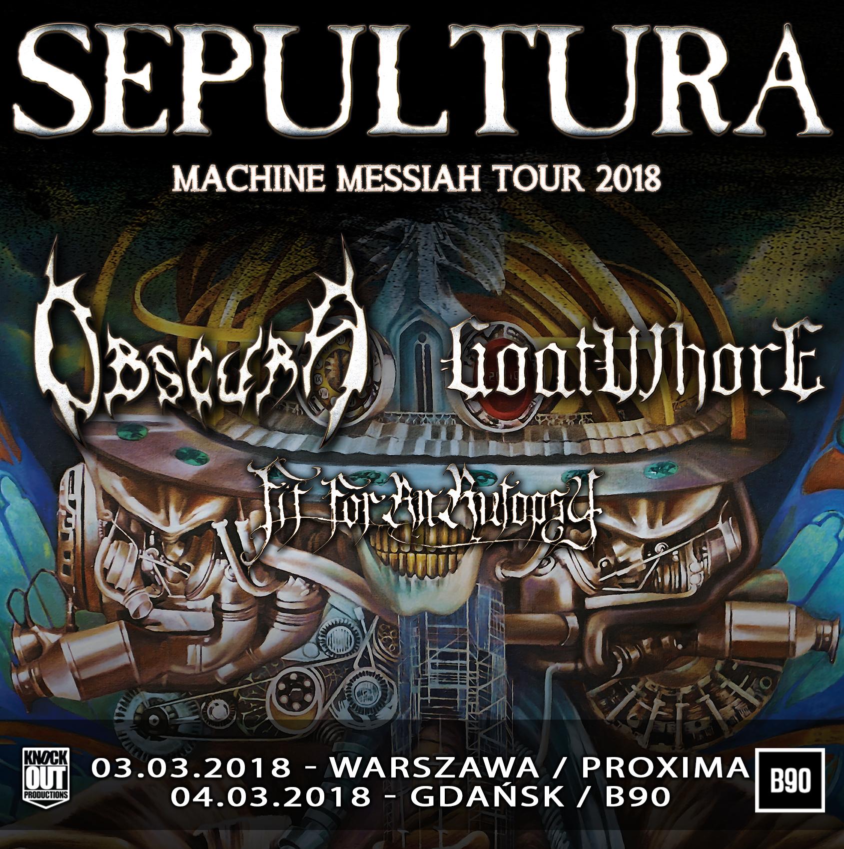 Andreas Kisser (Sepultura) zaprasza na koncerty