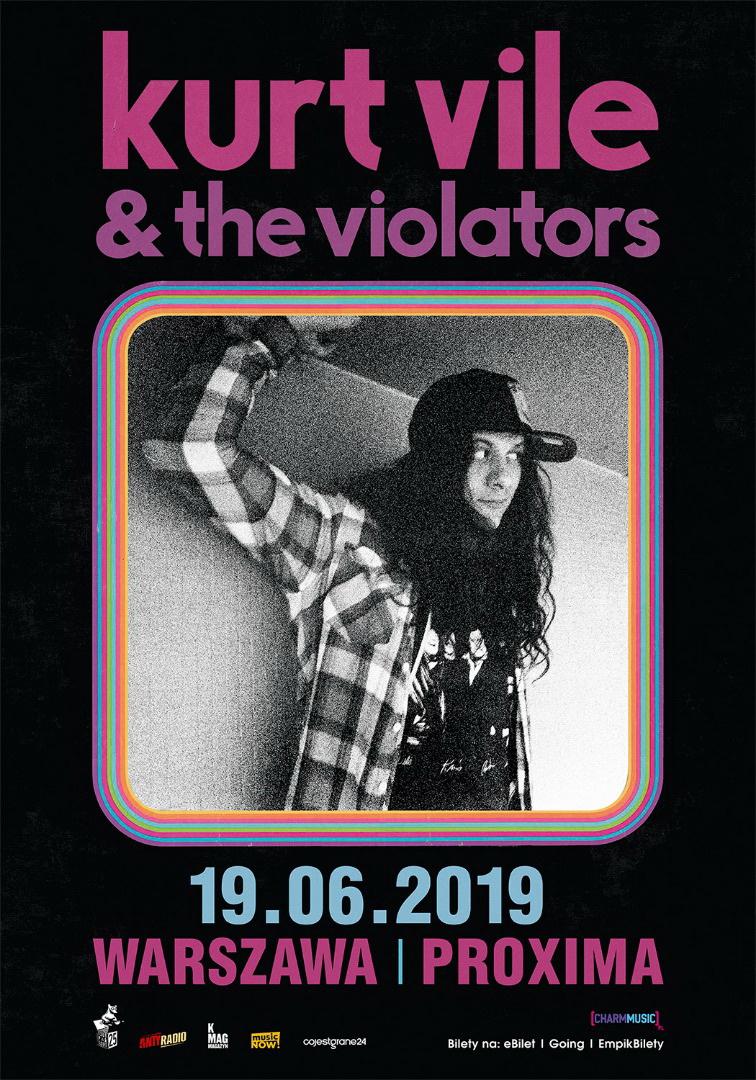 Kurt Vile & The Violators na jedynym koncercie w Polsce!