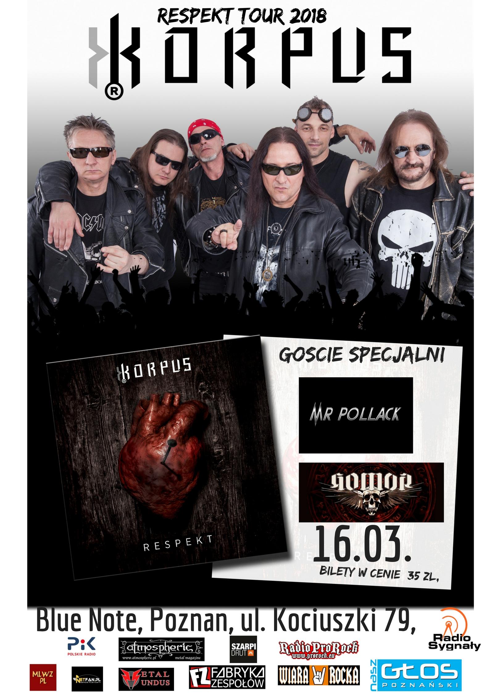 Korpus, Gomor i Mr. Pollack w Poznaniu -  Korpus Respekt Tour
