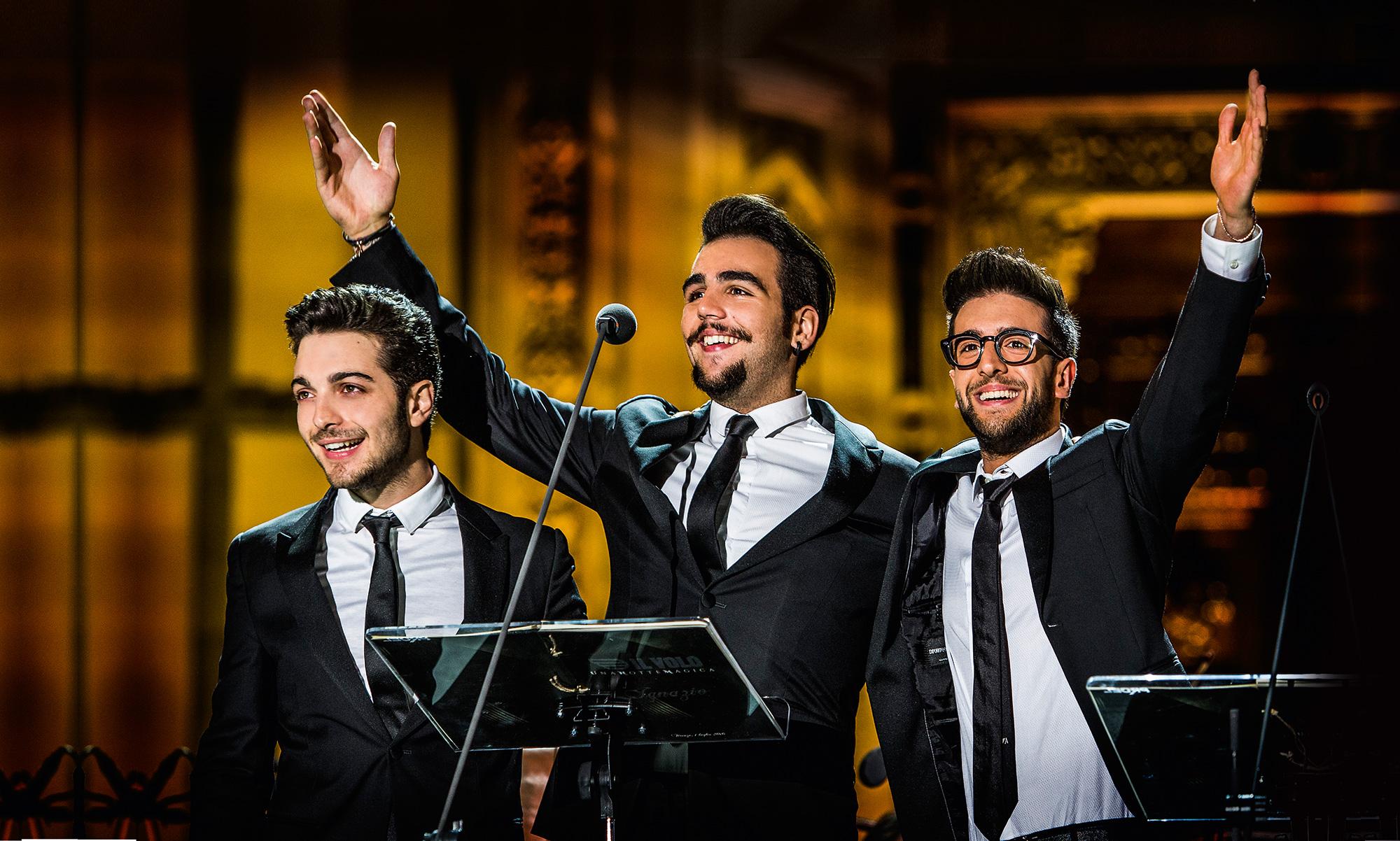Trio Il Volo zaraża młodych!