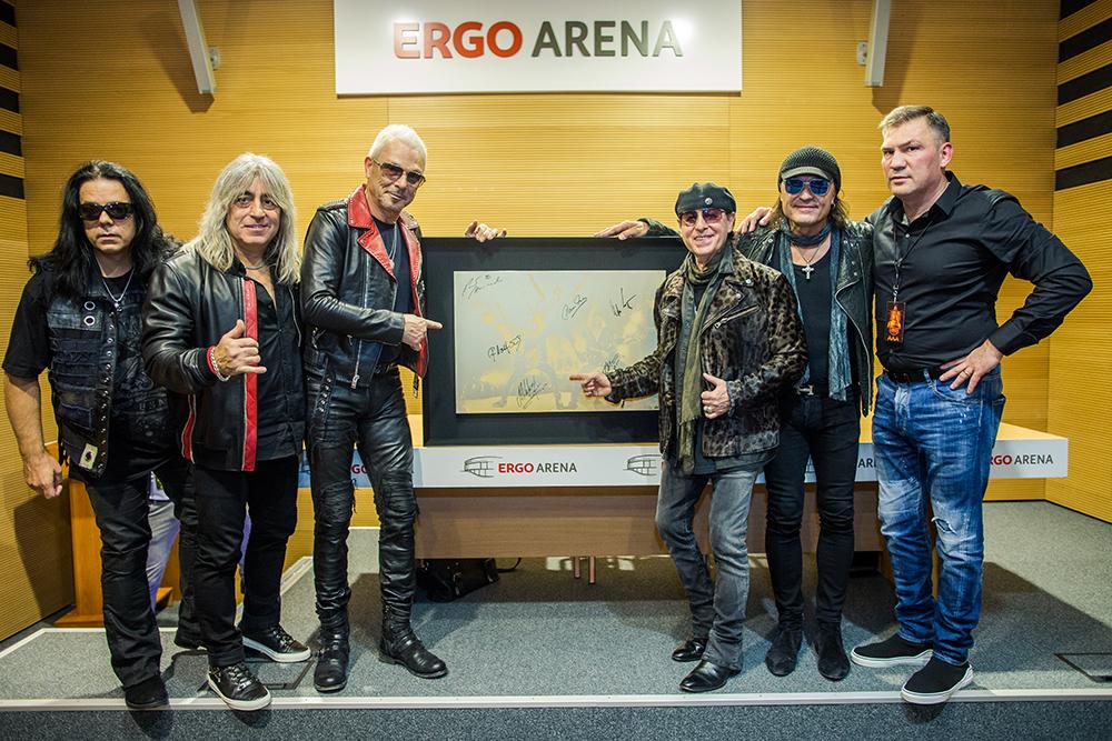 Wielkie serce Scorpions!