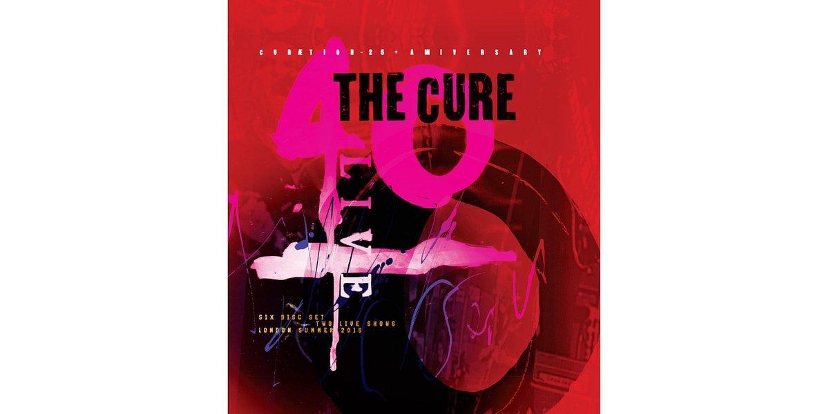 40 LIVE - CURÆTION-25 + ANNIVERSARY The Cure w sprzedaży od października