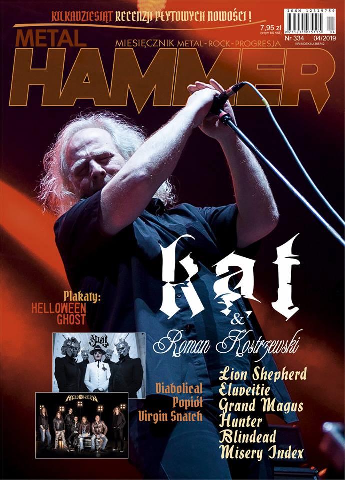 Kwietniowy Metal Hammer od dziś w sprzedaży!