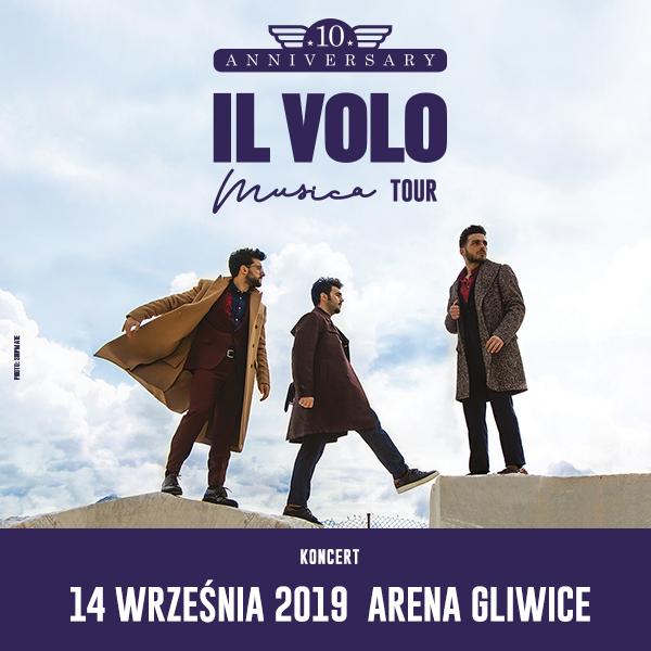 Jubileuszowy koncert IL VOLO w Gliwicach!
