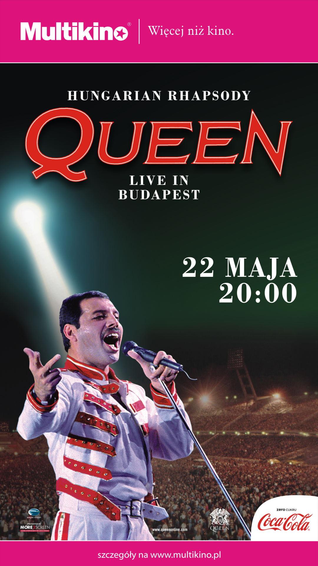Niezapomniany koncert Queen z 1986 roku na ekranie Multikina już 22 maja!