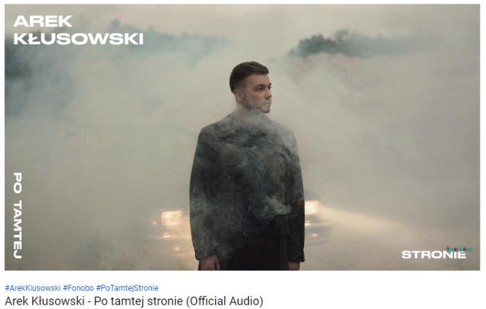 Debiutant z historią - Arek Kłusowski prezentuje nowy singiel