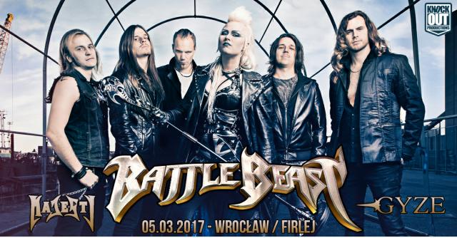 Battle Beast: Zmiana miejsca koncertu