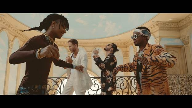 BURNS, Maluma i Rae Sremmurd prezentują klip do Hands On Me