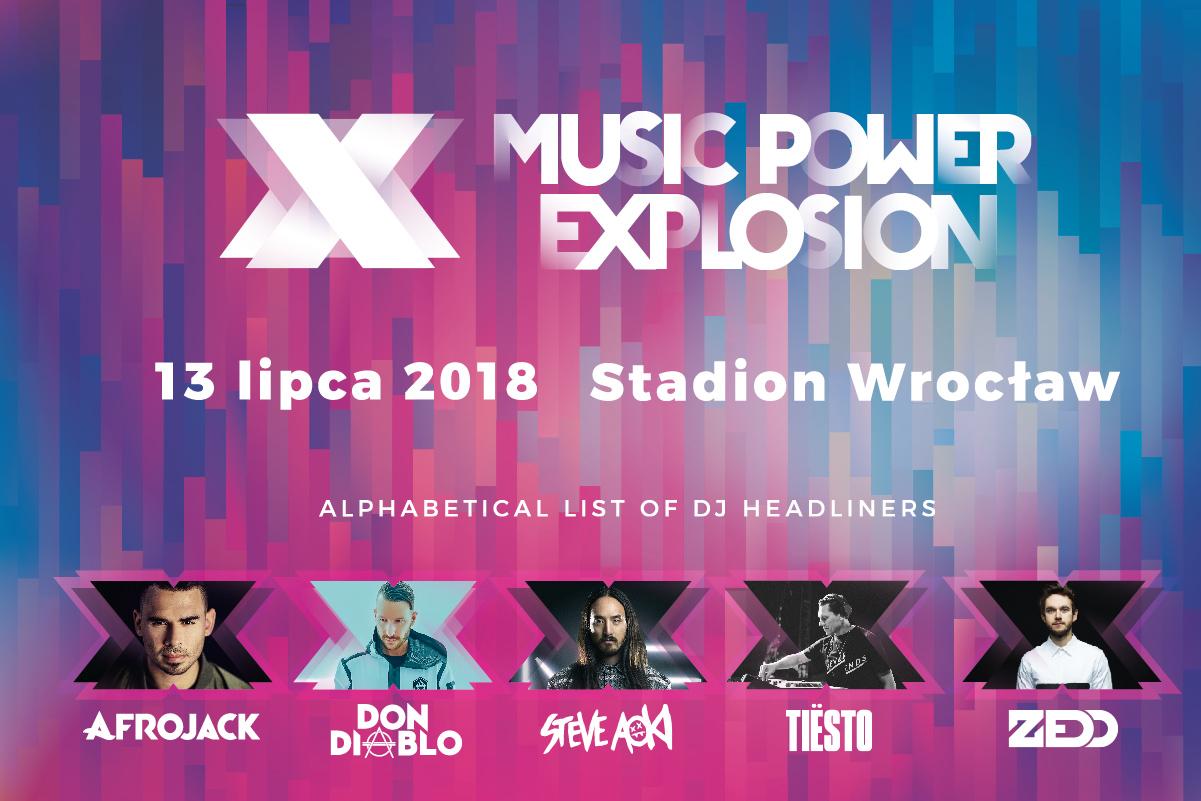 Do piątku tańsze bilety na Music Power Explosion !