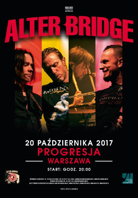 Alter Bridge w Polsce!