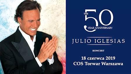 Julio Iglesias w Polsce. Przedstawiamy spot zapowiadający koncert