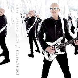 Joe Satriani What Happens Next -  premiera nowej płyty wirtuoza gitary