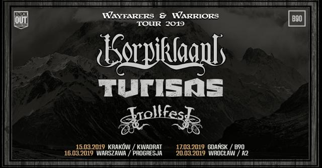 Już od piątku Korpiklaani na czterech koncertach w Polsce