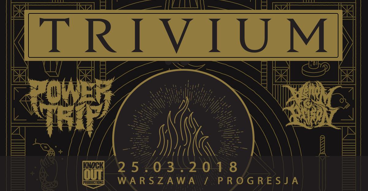 Trivium w Warszawie: Startuje przedsprzedaż
