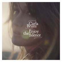 Carla Bruni - premiera singla Enjoy the Silence!