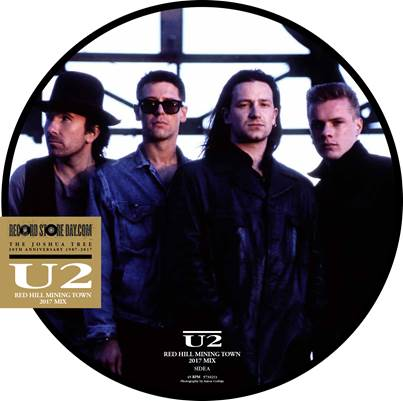 U2 - Red Hill Mining Town 2017 Mix. Premiera z okazji Record Store Day!