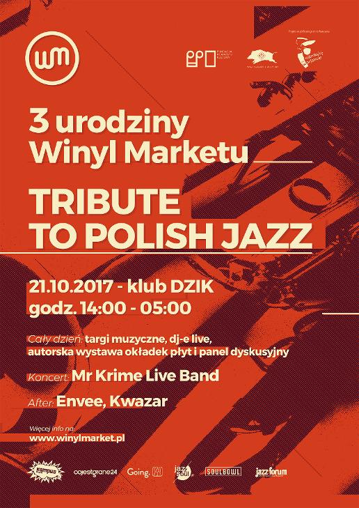 3. urodziny Winyl Marketu - Tribute to Polish Jazz