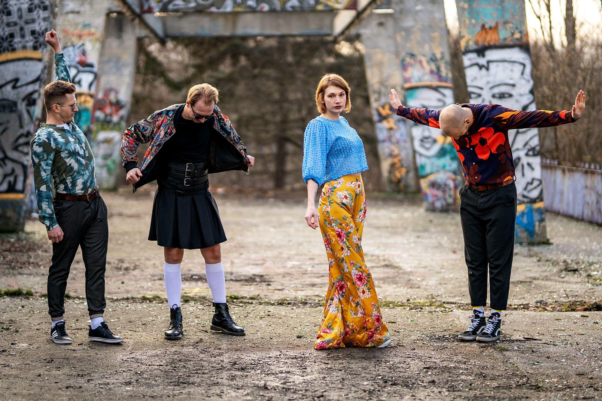 Warszawski Krůk przedstawia zew  cyfrowa premiera albumu Nibykwiaty 27 marca