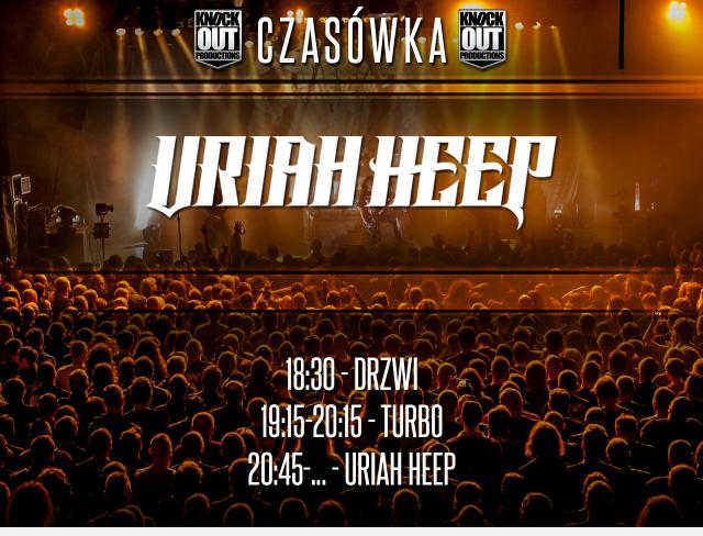 Uriah Heep: Dokładny plan koncertów w Polsce