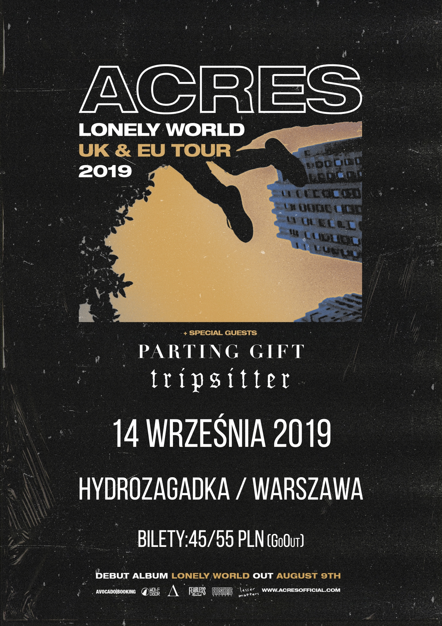 Acres z nowym albumem. Wkrótce koncert w Polsce
