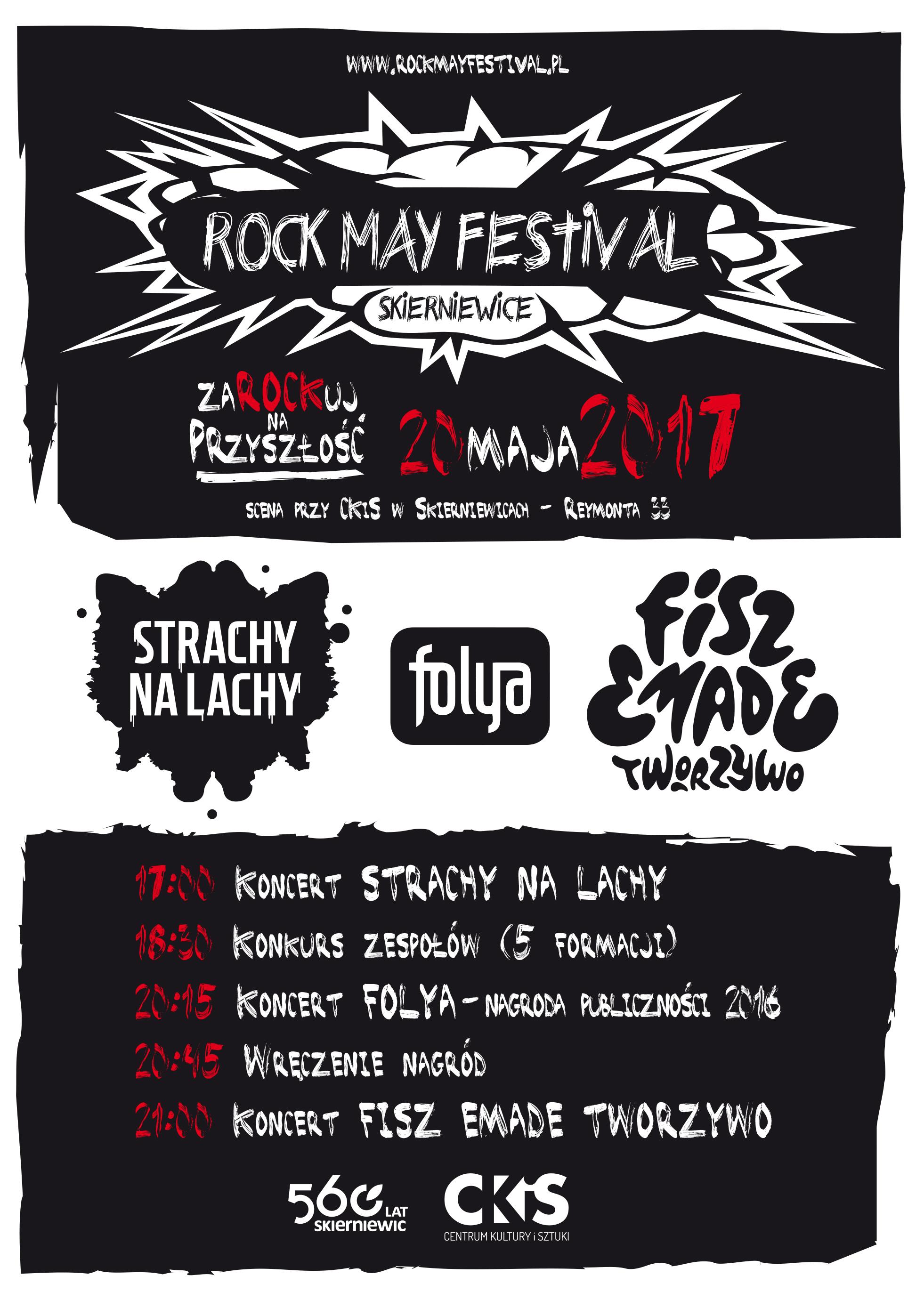 Zagraj na XVI  edycji festiwalu Rock May Festival