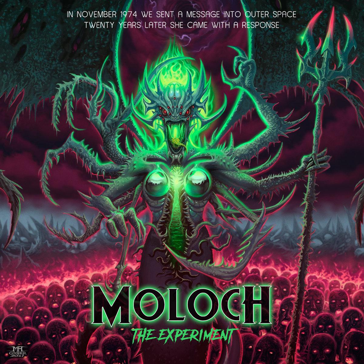 Nowy singiel Moloch The Experiment już dostępny!