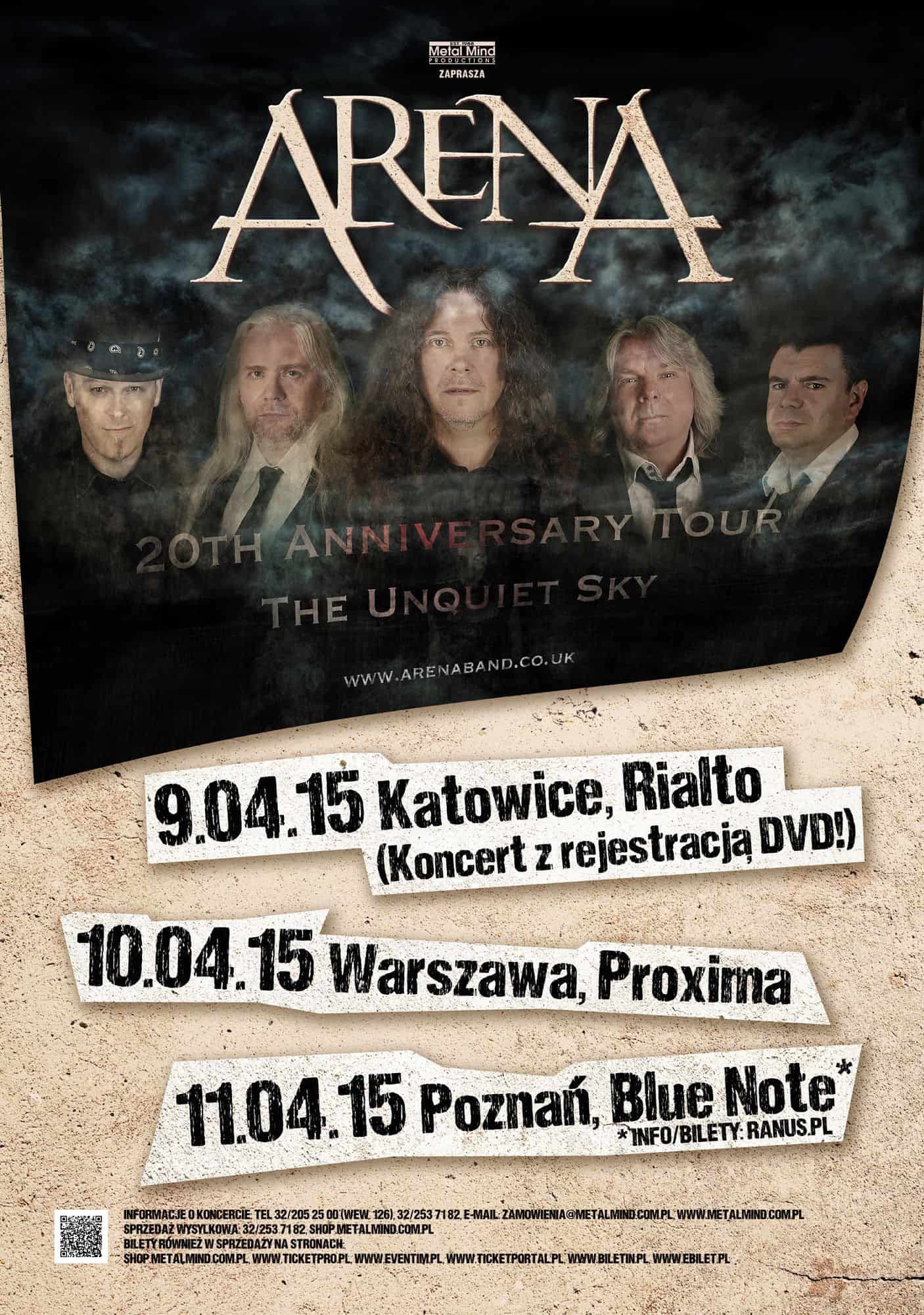 Arena – wybierz utwory, które zostaną zagrane podczas rocznicowej trasy!