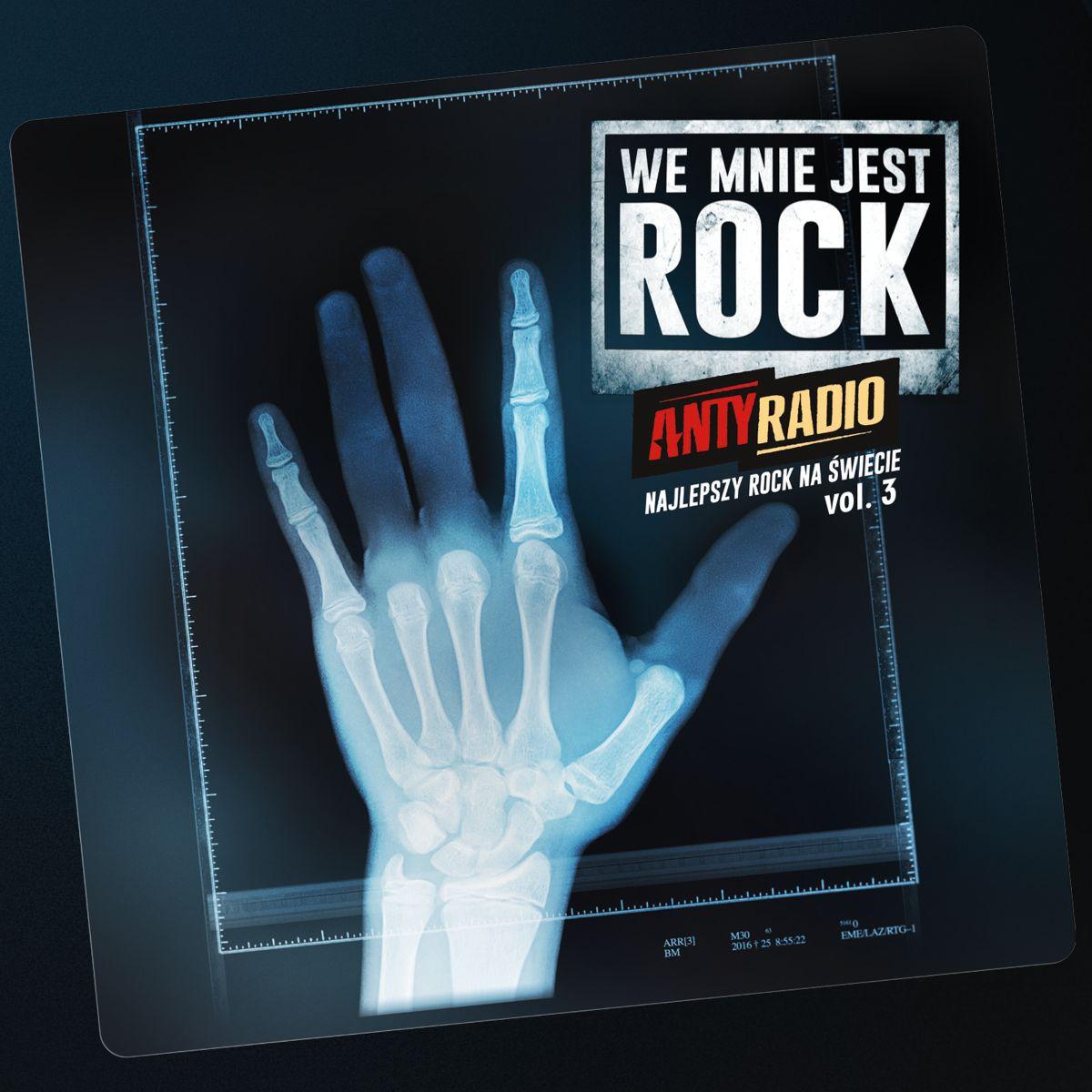 Trzecia część składanki Antyradio - Najlepszy Rock Na Świecie!