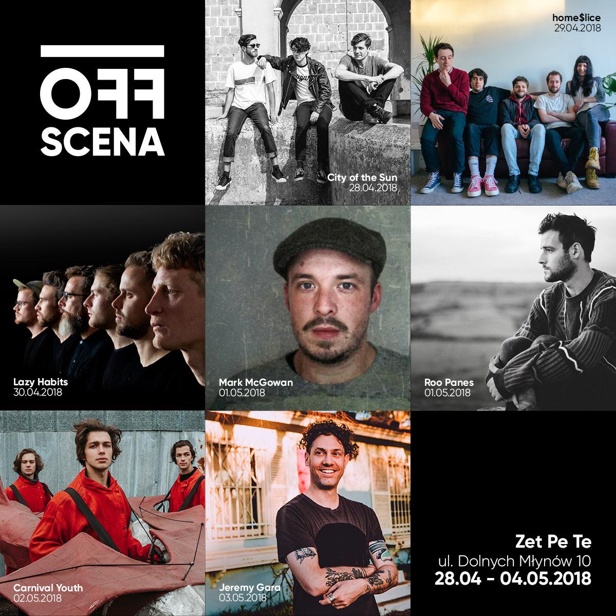 Znamy wszystkich artystów tegorocznej Off Sceny!