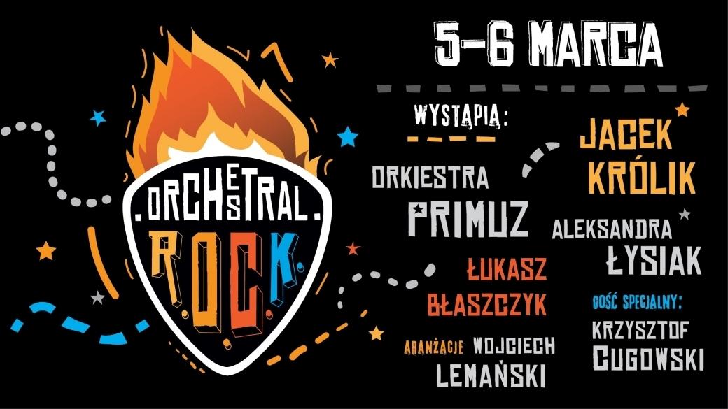 Orchestral R.O.C.K. - niezwykłe widowisko muzyczne
