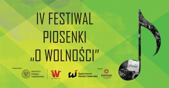 IV Festiwal Piosenki O wolności przeszedł do historii!