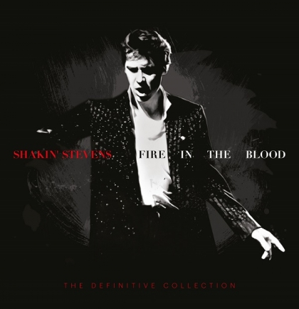 "Shakin' Stevens zapowiada nowy album – ""Fire In The Blood"""
